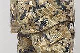 """Костюм """"Скаут"""" утепл. мембранное трикотажное полотно/флис подклад соты желтые, р.46-56, фото 3"""