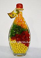Декоративная бутылка со специями 21 см