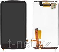 Дисплей HTC Sensation XE, с сенсором, цвет черный