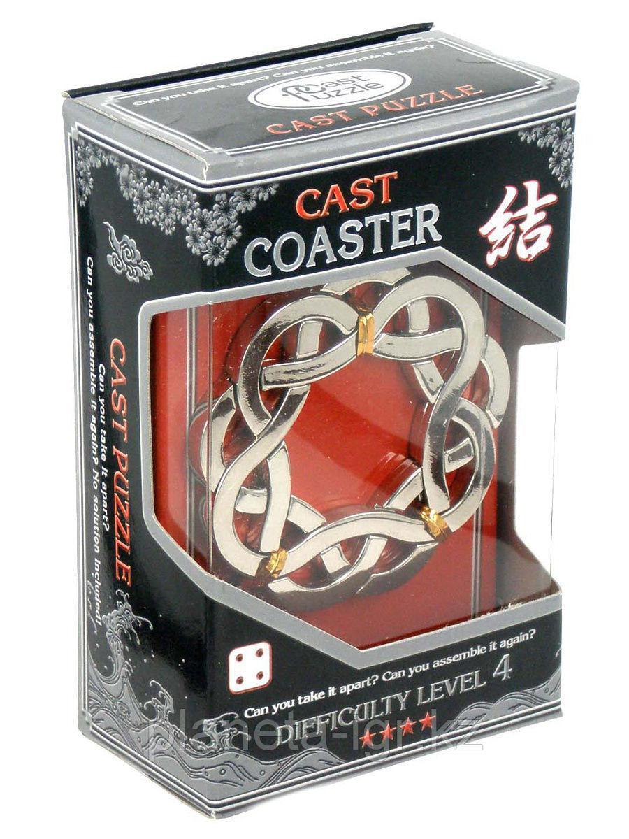 Головоломка Cast Coaster, difficulty Level 4, Hanayama