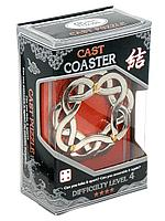 Головоломка Cast Coaster, difficulty Level 4, Hanayama, фото 1
