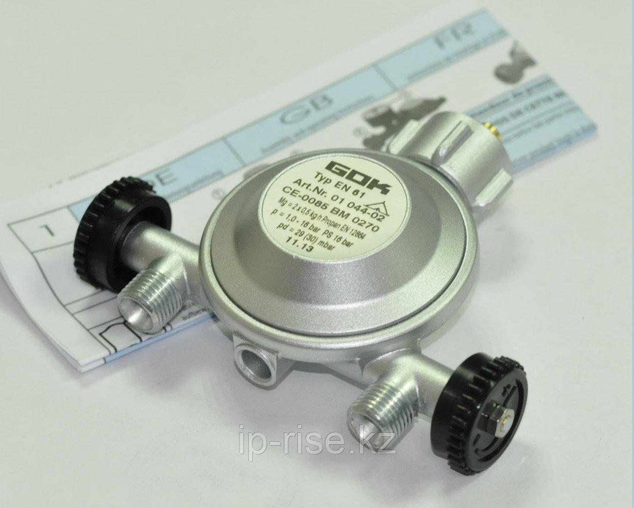Регулятор давления газа 1,5кг/час 29(30)мбар PS16бар Komb.A x G1/4LH-KN UEDS Man