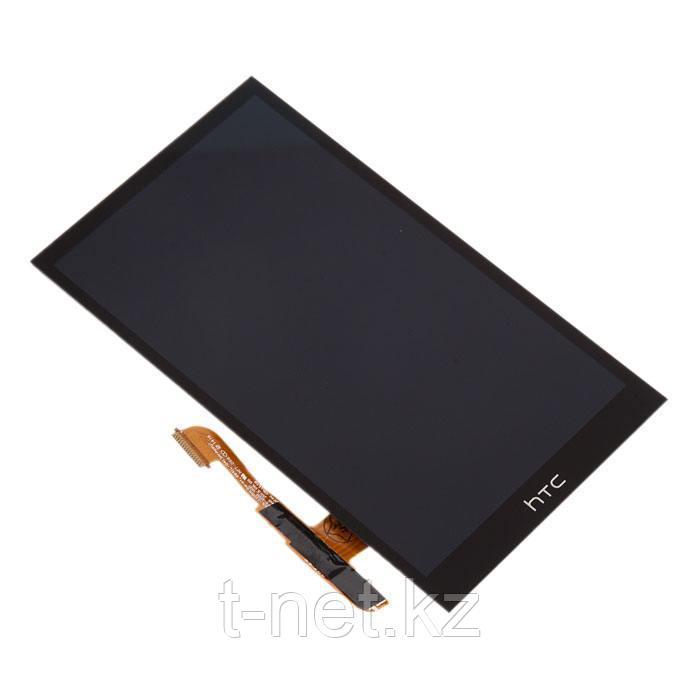 Дисплей HTC One E8, с сенсором, цвет черный
