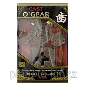 "Головоломка Cast O""Gear, difficulty Level 3, Hanayama"