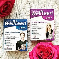 Wellteen -комплекс витаминов, микроэлементов и биодобавок для подростков