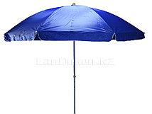 Зонт-тент пляжный синий высота 2,4 м диаметр 2.55 м (601)