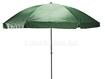 Зонт-тент пляжный зеленый высота 3 м диаметр 3 м (600)