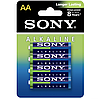 Sony Plat AA(LR6*4шт) AM3PT-B4D Батарейки 4 штуки блистер