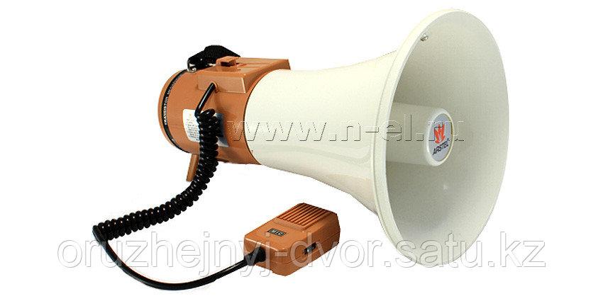 """Мегафон """"Арстел"""" TS-125B ручной с выносным микрофоном, 15/25 Вт"""