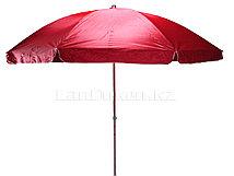 Зонт-тент пляжный красный высота 2,1 м диаметр 190 см (602)