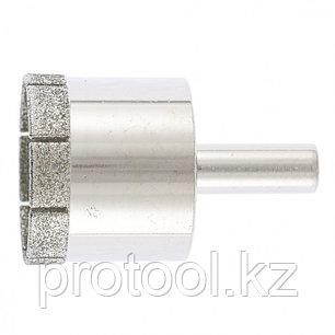 Сверло по стеклу и керамической плитке, 35 х 55 мм, цилиндр. хв.// СИБРТЕХ, фото 2