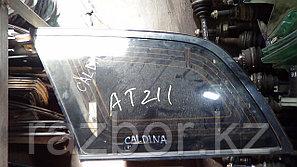 Стекло заднее левое (собачатник) Toyota Caldina (ST215)