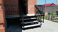Лестничная площадка с перилами , фото 1