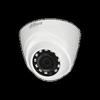 DH-HAC-HDW1000R-0280B-S3 1Мп купольная HDCVI видеокамера с ИK подсветкой