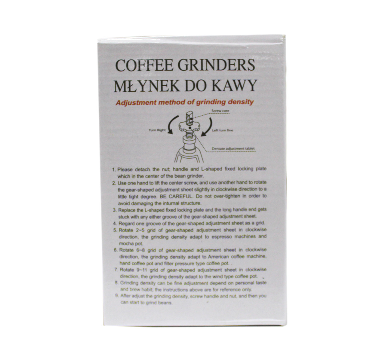 Кофемолка ручная, красное дерево, 30x25x30см - фото 4