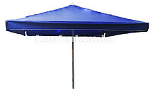 Зонт-тент пляжный квадратный синий 2,15 м (701)
