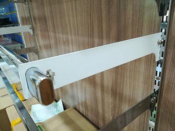 Торговое оборудование - Держатель для трубы овальной белого цвета  на Vertikal 300мм