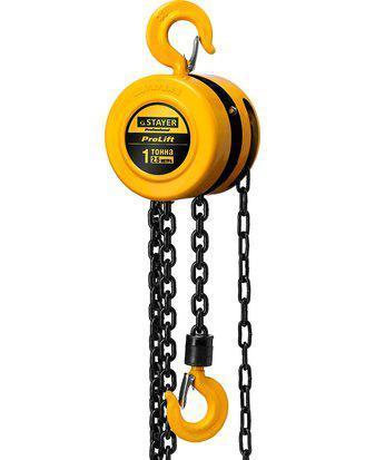 Таль цепная [ручные тали] Stayer 4308-1_z01, 1000 кг, 2.5 метров, фото 2