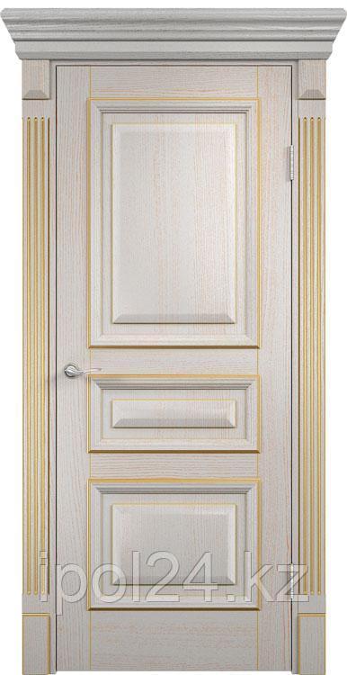 Дверь Межкомнатная LOYARD Версаль глухое (патина золотая)