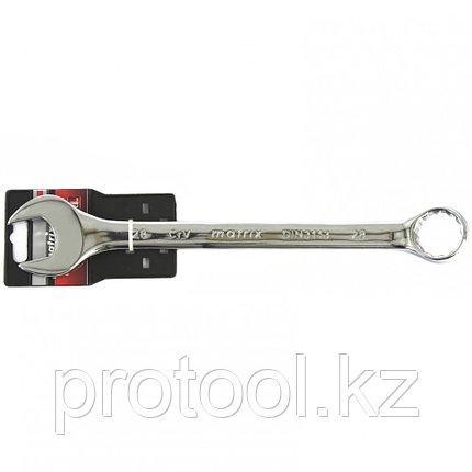 Ключ комбинированный, 28 мм, CrV, полированный хром MATRIX, фото 2