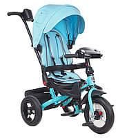 Трехколесный велосипед Mars Mini Trike Transformer T400/2019 Jeans Light Blue, фото 1