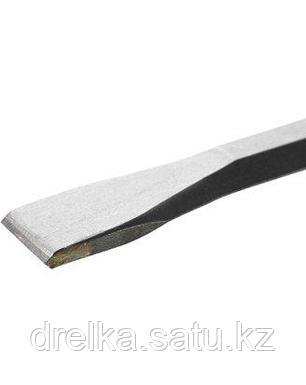 Зубило SDS Plus плоское ЗУБР 29368-20-250, ПРОФЕССИОНАЛ, по бетону для перфоратора, с твердым сплавом, 250 мм., фото 2
