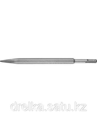 Зубило SDS Plus пика ЗУБР 29361-00-250, ЭКСПЕРТ, по бетону для перфоратора, 250 мм., фото 2