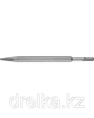 Зубило SDS Plus пика ЗУБР 29361-00-250, ЭКСПЕРТ, по бетону для перфоратора, 250 мм.