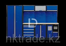 Рабочий модуль для хранения инструмента 3 синий Габариты: 2955 x 460 x 2000мм