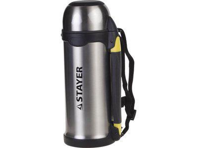 Термос туристический, с ручкой Stayer Comfort 48110-1000 (1000мл)
