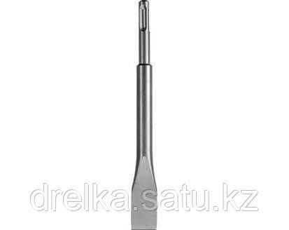 Зубило SDS Plus плоское СИБИН 29242-20, по бетону для перфоратора, 200 мм.