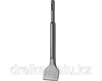 Зубило SDS Plus плоское СИБИН 29244-40, по бетону для перфоратора, изогнутое, 40x200 мм