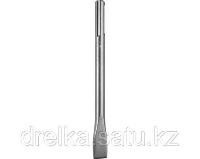 Зубило плоское SDS Mах ЗУБР 29382, ЭКСПЕРТ, по бетону для перфоратора