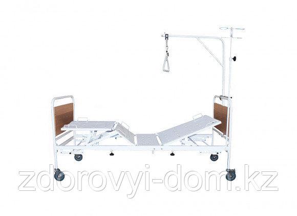 Кровать медицинская функциональная четырехсекционная КМФ4-01