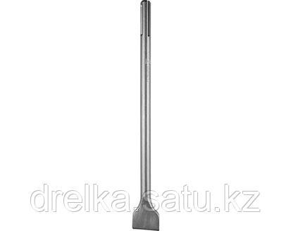 Зубило плоское SDS Mах ЗУБР 29384-50-400, ЭКСПЕРТ, по бетону для перфоратора, 50х400 мм