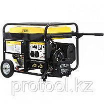 Бензиновая сварочная генераторная установка WG 210Е, 5,0 кВт, 220В, бак 25 л, электрост.//DENZEL, фото 3