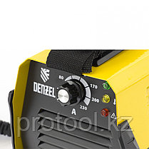 Аппарат инвертор. дуговой сварки DS-230 Compact, 230 А, ПВ 70%, диам.эл. 1,6-5 мм// DENZEL, фото 2