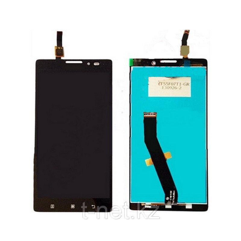 Дисплей Lenovo K910 в сборе с сенсором, цвет черный