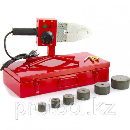 Аппарат для сварки ПП труб КW 800, 800 Вт, 300 °C, 20-25-32-40-50-63 мм, металл. кейс// KRONWERK, фото 2