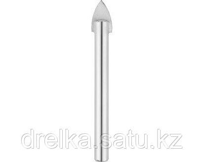 Сверла по кафелю и стеклу URAGAN 29830, с цилиндрическим хвостовиком