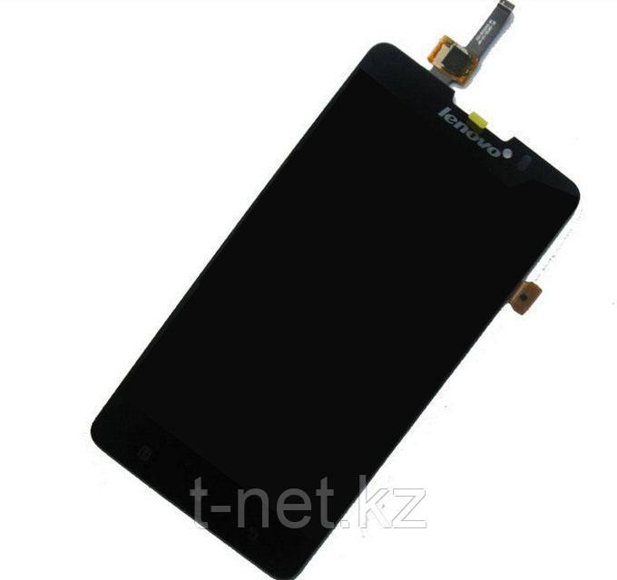 Дисплей Lenovo S580  с сенсором, цвет черный