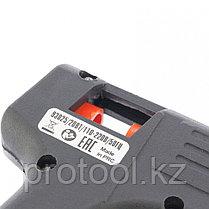 Клеевой пистолет с выкл. 7 мм в кейсе, 20 Вт, 2,5 г./мин. // SPARTA, фото 2