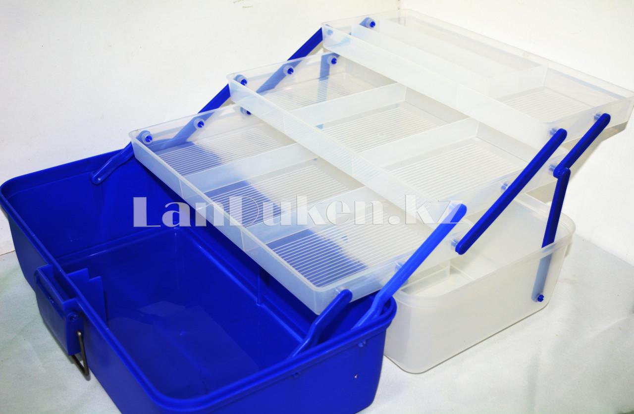 Ящик для рыболовных снастей 37*21*21 см - фото 1