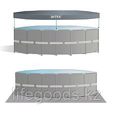 Каркасный бассейн 457х107 cм, полный комплект, Intex 28734/26724, фото 3