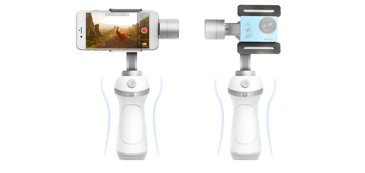 Feiyu-Tech VIMBLE C. Трехосевой стабилизатор для экшн-камер/смартфонов