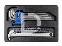 Наборы инструмента в ложементах(для тележек)
