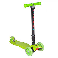 Самокат трехколесный TooCool Mars Kids Maxi складной зеленый, фото 1