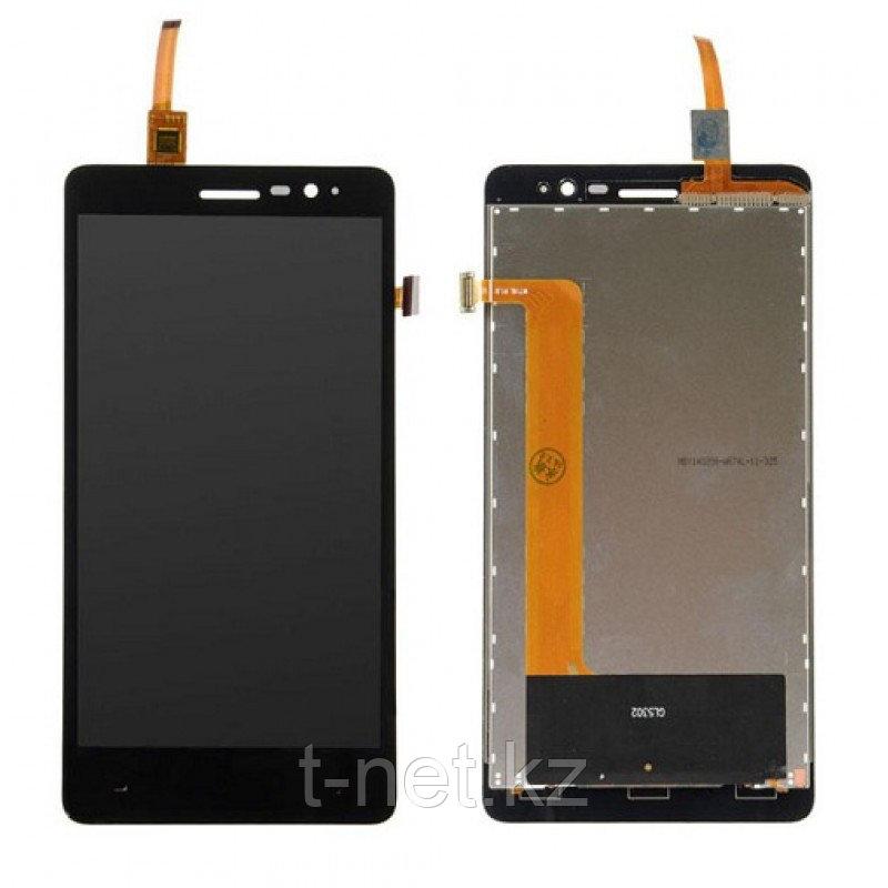 Дисплей Lenovo S860  с сенсором, цвет черный