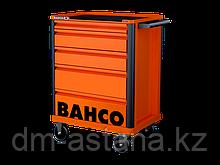 Инструментальная тележка с 5 выдвижными ящиками и защитными бортами, Производство: BAHCO (Швеция)