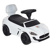 Детская каталка Chilok Bo Toys Maserati белый, фото 1